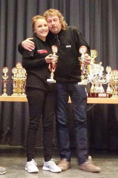 Lange Kay und Nina Rallye Zorn