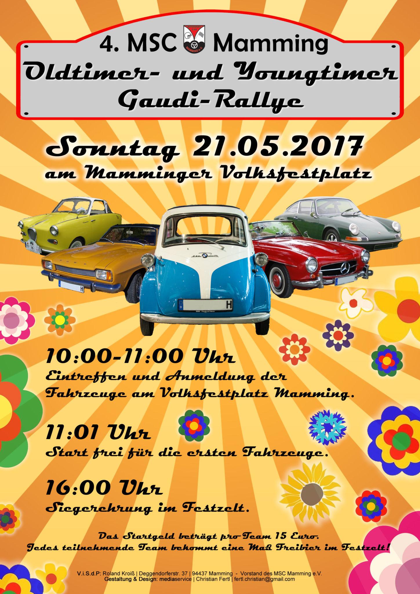 Old- und Youngtimer Gaudi-Rallye